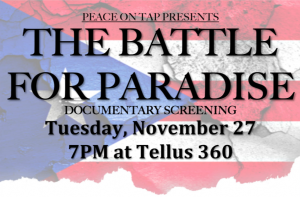 Documentary Screening: The Battle For Paradise