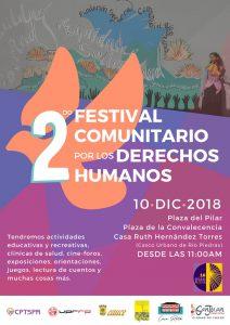 2do festival comunitario por los Derechos Humanos